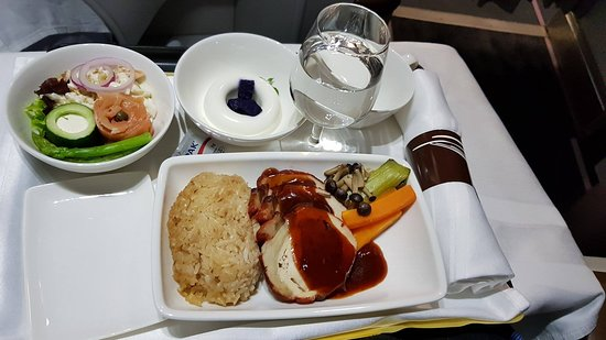 Philippine Airlines (PAL): Meal.