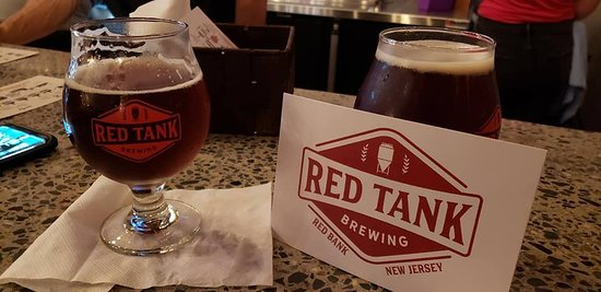 Red Bank, Nueva Jersey: Red Tank serves only their own home-made brews.