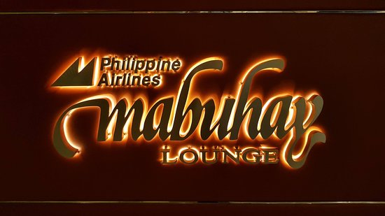 Philippine Airlines (PAL): The lounge.