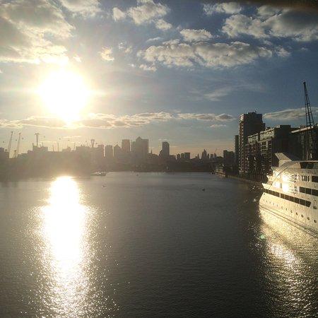 London sunset from the Bridge