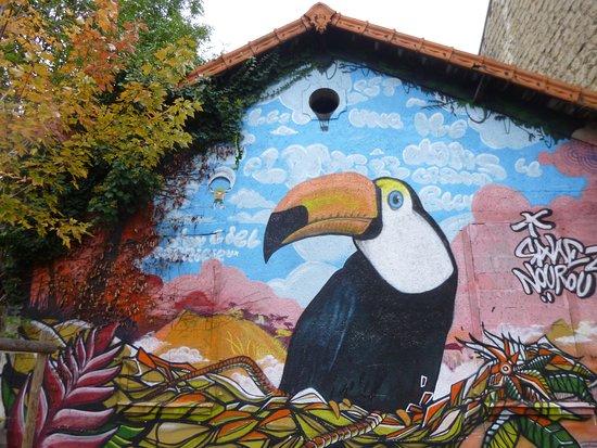 Fresque le Toucan