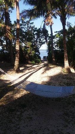 Fafa Island, Tonga: Private access to the beach