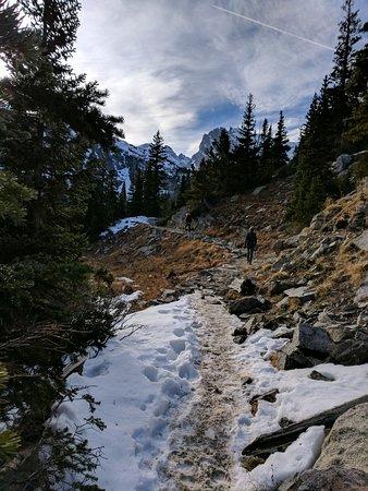 Ward, CO: snowy hike