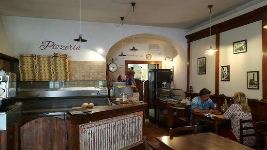 Trattoria Pizzeria Il Torrione: L'interno