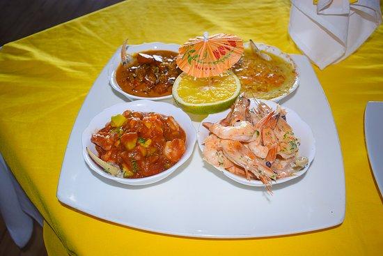 Ven y Disfruta de platos exquisitos, con nuestra gran variedad frutos del mar.
