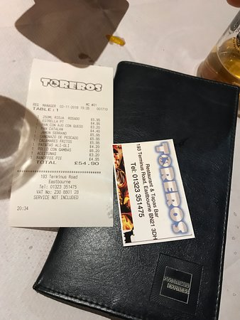 Фотография Toreros Tapas Restaurant & Bar