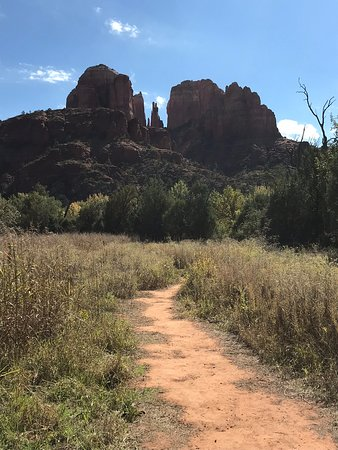 Cathedral Rock from path