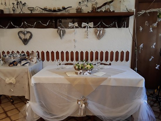 Pranzo di matrimonio_Tavolo degli sposi