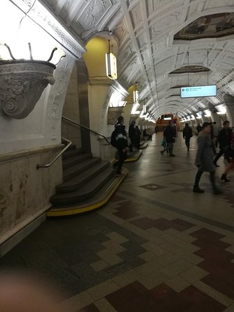 Belorusskaya Metro Station