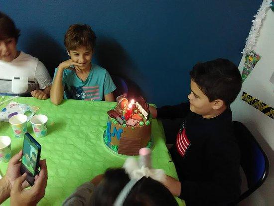 Escape Ave Fenix : Momento de la tarta!!