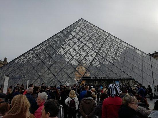 Musée du Louvre : La Pyramide du Louvre.