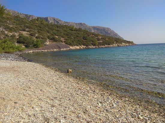 Samos Town, Yunanistan: Mikri Lakka Beach