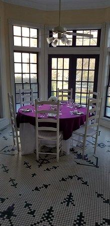 Balsam, Северная Каролина: Beautiful dining room