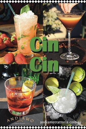 Cin Cin Cocktails at Andiamo