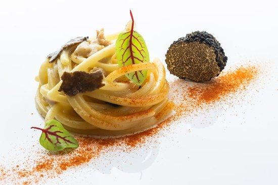 Macherio, Włochy: spaghettoni al tartufo