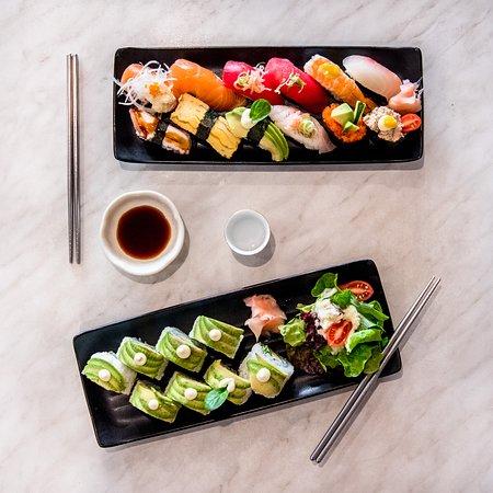 Poppo Korean & Japanese Restaurant : Sushi and roll