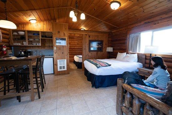 Kalaloch Lodge cabin (inside)
