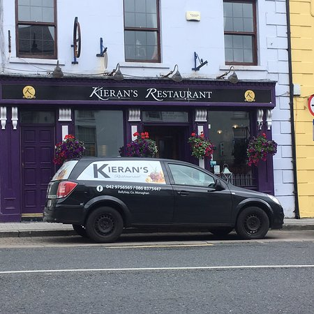 Ballybay, أيرلندا: Our new sign & outside catering