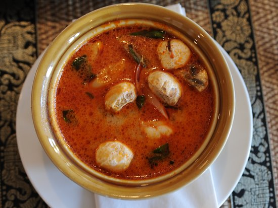 Soup Hot and Spicy Tom Yum.