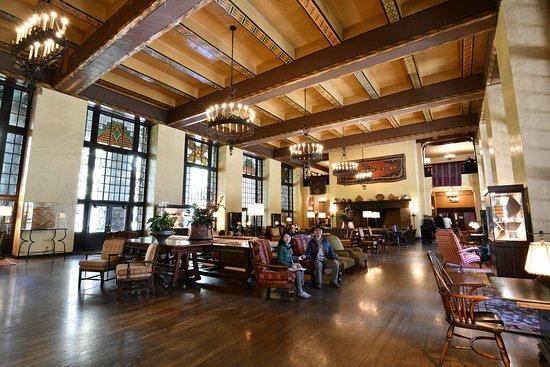 Main indoor area