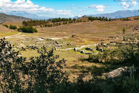 Ruins near Laguna Keushu