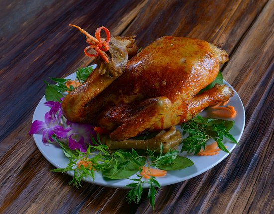 Vietnamese special food at Sapa sky view restaurant & Bar .