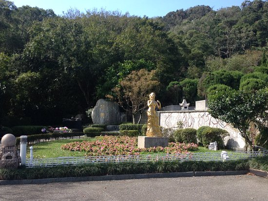 Teresa Teng Memorial Park: 音楽が本当に心地よく流れてました♪
