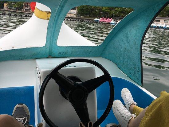 十和田湖モーターボート