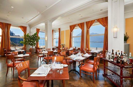 Hilterfingen, Swiss: Restaurant