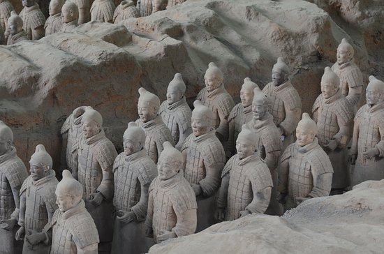 ChinaSeeing Tours : terracotta army in Xi'an