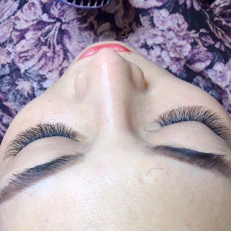 The Garden Nail Spa : Eyelashes extensions volume technique ❤️❤️❤️