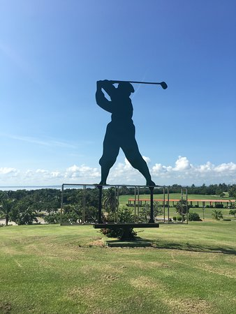 The golf course!