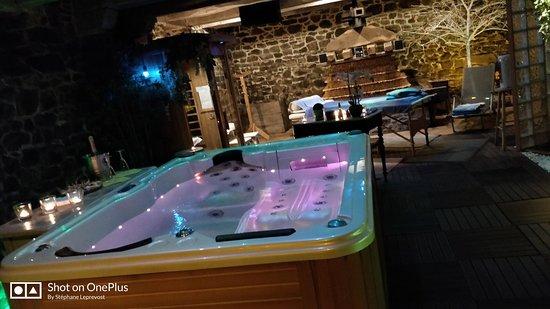 Pleudihen-sur-Rance, Fransa: Superbe endroit et accueil vraiment top Tout était parfait. La privatisation de l'espace bien-être WOUAH 👍👍👍 MERCI POUR TOUT et au plaisi