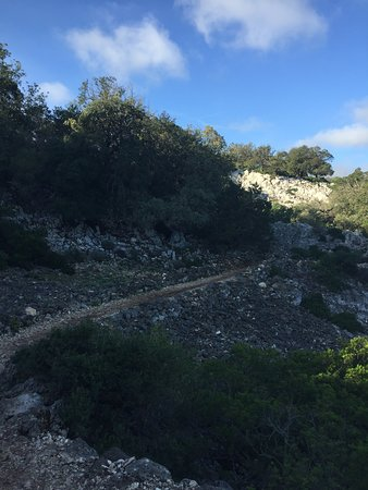 Cala Goloritze: The hike is not too difficult