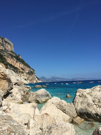 Cala Goloritze: Amazing colours