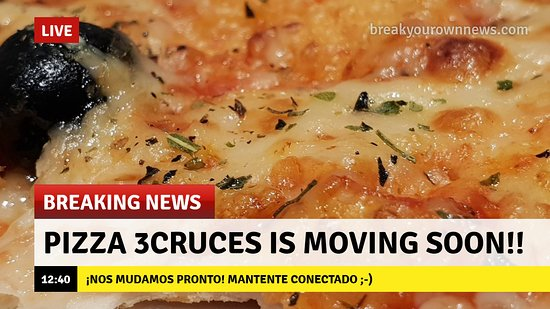 Pizza 3Cruces