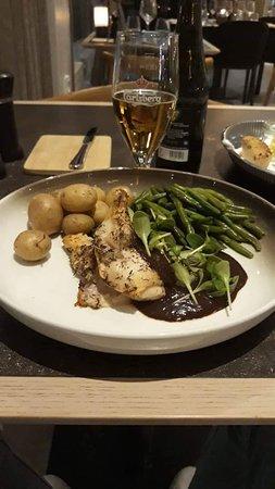 Cena servita al ristorante