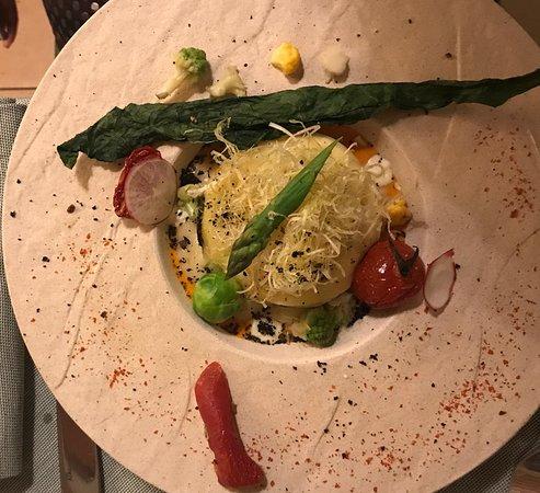 Tomino con verdure