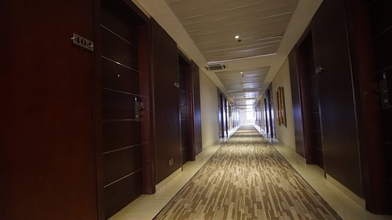 Pearlwort Hotel and Suites: Passage way