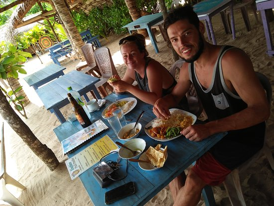 Chris and Olli Beach Hut: Special request#Rice and curry..
