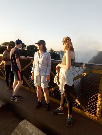 The magnificent Victoria falls bridge