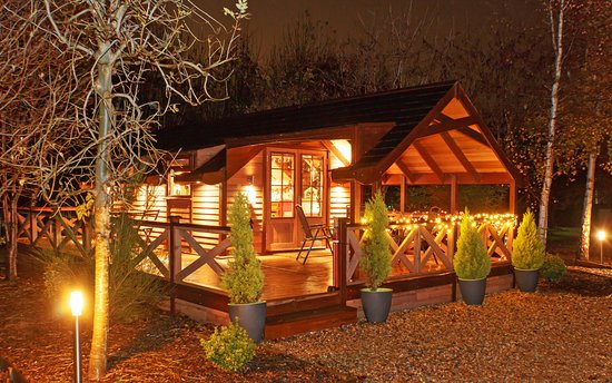 The Christmas Lodge.Enjoy Fairswood Lodge 1 At Any Time Of The Season We Re