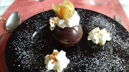 Dessert Chocolat marron