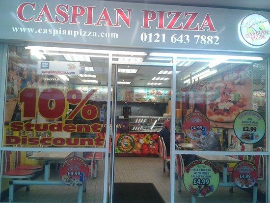 Caspian Pizza Birmingham 23 Smallbrook Queensway Photos