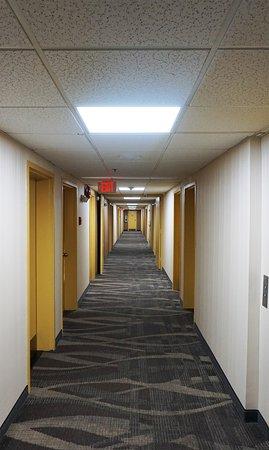Floral Park, NY: Hotel Corridor