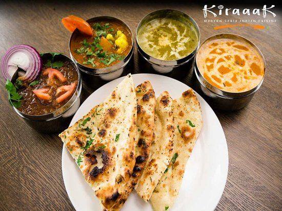 Naan and Curries