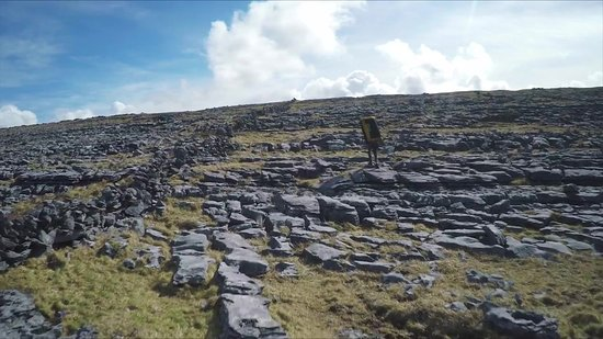 Doolin, Ireland: The famous karst landscape of The Burren