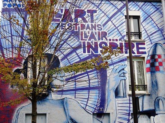 Fresque l'Art est dans l'Air… Inspire