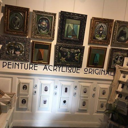 Galerie très originale ....