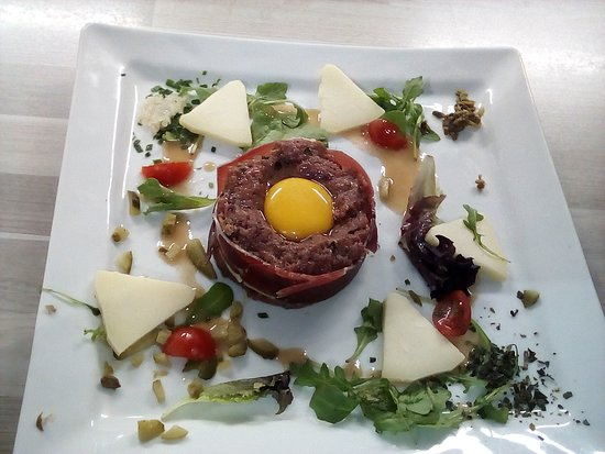 Salade ceasar... steak tartare revisité